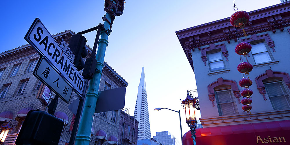 San Francisco's Chinatown. ( Photo: Claudia Uripos / eStock Photo)