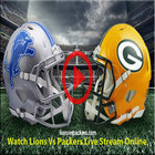 Lions vs Packers