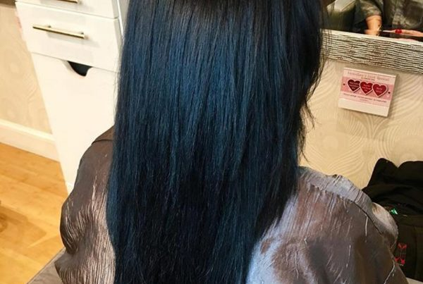 dark hair color boston salon