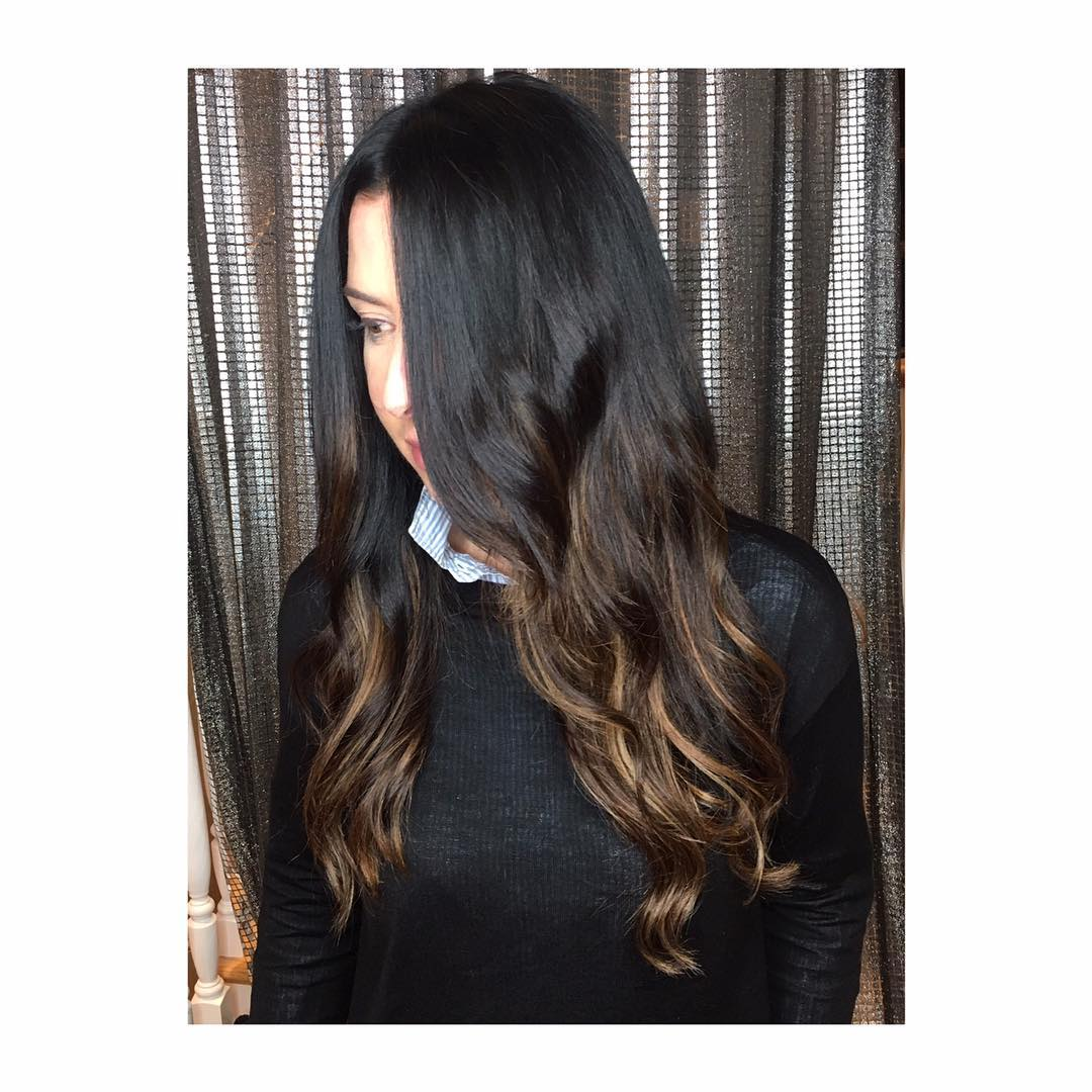 root touch up with extensions boston salon
