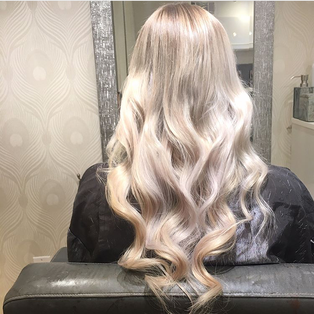 Tape in hair extensions extology salon - Hair salon extensions ...
