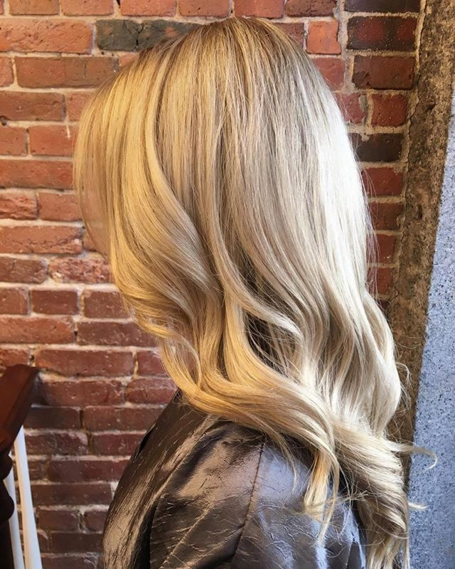blonde goldwell hair color boston