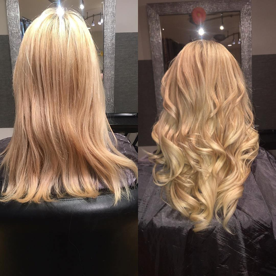 blonde hair extensions boston