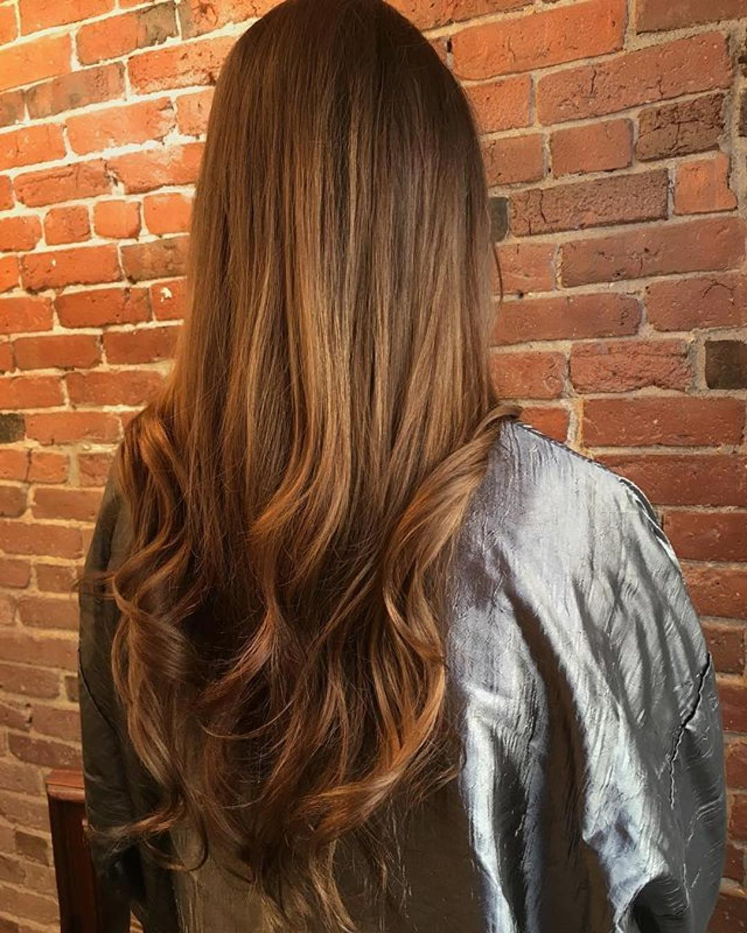 brunette hair color boston salon