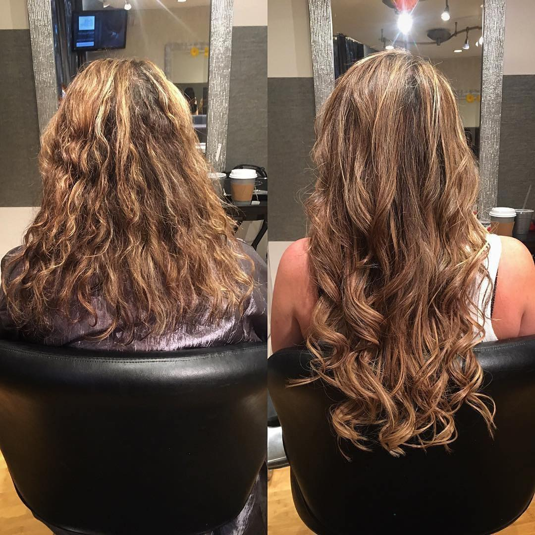 hair extensions boston salon before and after