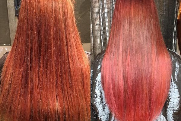 red hair extensions boston