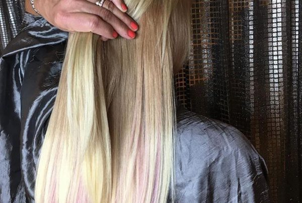 tape in extensions pink boston