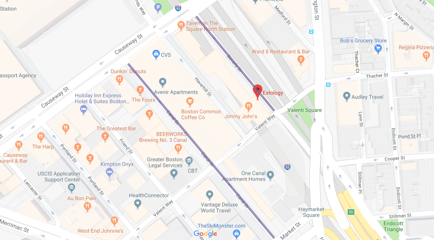 extology salon boston street parking