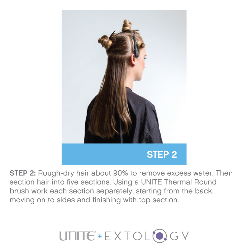 Unite 7 Seconds BlowOut Creme Step 2