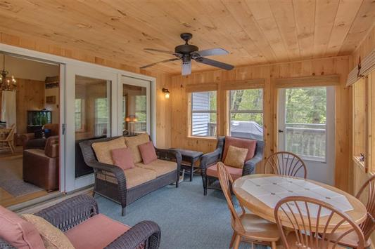 Porch 185 Reservoir Road, Campton, NH 03223 Alpine Lakes Real Estate
