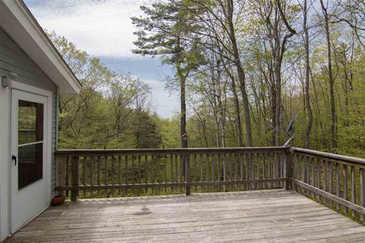 Back Deck 185 Reservoir Road, Campton, NH 03223 Alpine Lakes Real Estate