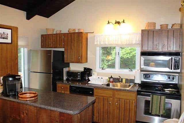 Kitchen 1 Dubeau Circle, Campton, NH 03223 Alpine Lakes Real Estate