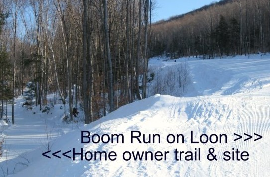 Ski slope and owner trail 51 Crooked Mountain Road, Lincoln, NH 03251 Alpine Lakes Real Estate
