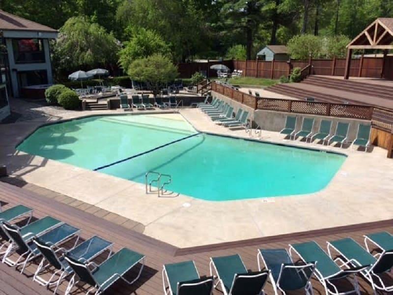 Outdoor Pool 27 Condo Road #2, Campton, NH 03223 Alpine Lakes Real Estate
