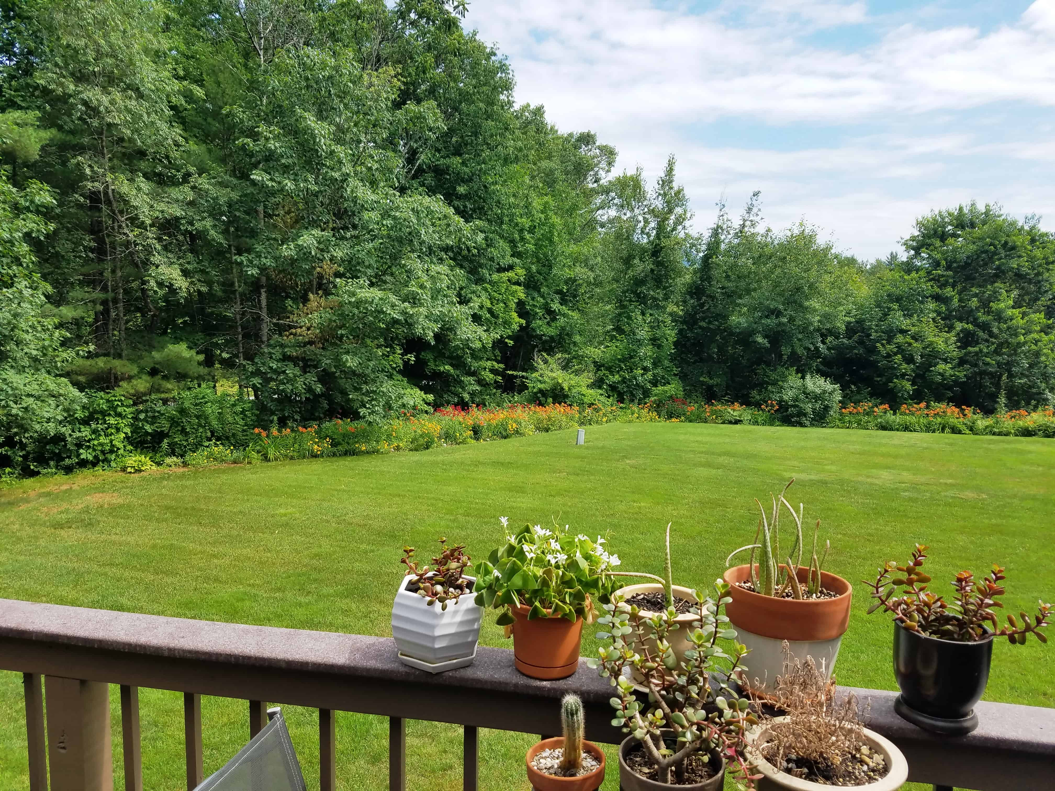 Deck View 7-6 Overlook Rd Unit 3B, Campton, NH 03223 Alpine Lakes Real Estate