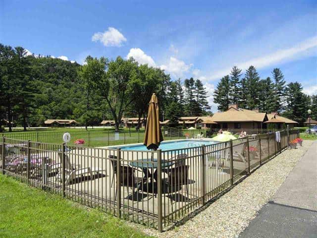 Outside Pool 1640 Daniel Webster Highway#40, Woodstock, NH 03262 Alpine Lakes Real Estate