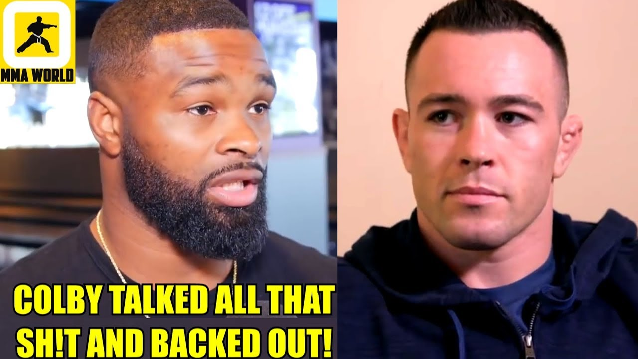 it u0026 39 s official  tyron woodley will defend his belt on sept 8 and its not against colby ali on