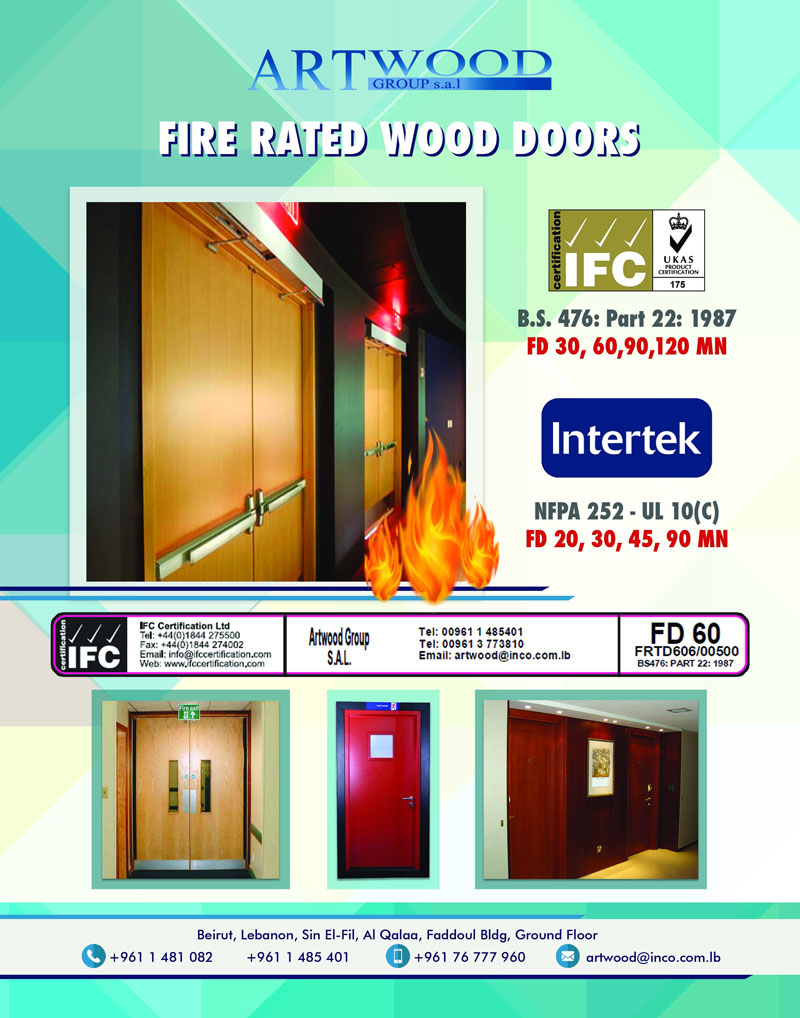 Subject Wood Fire Rated Doors Certified Labelled Sent By Email