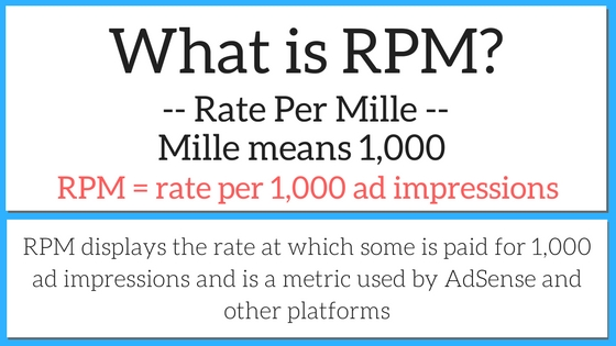 what is rpm - rate per mille