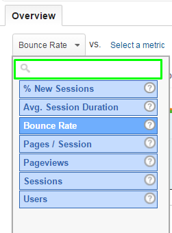 Analytics AdSense Compare Metrics