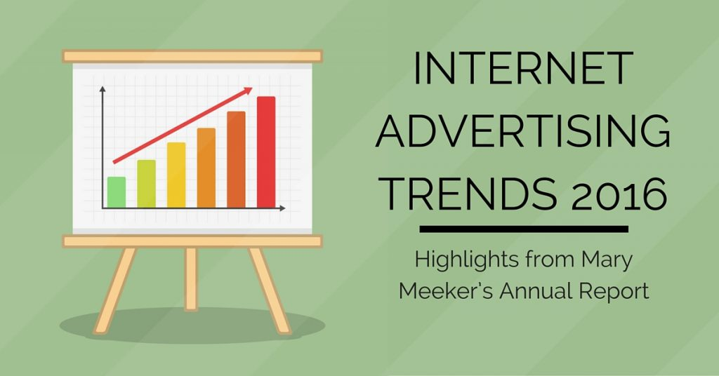 Internet Advertising Trends 2016
