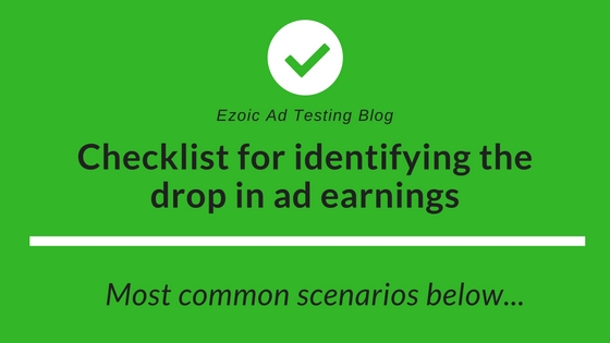 why is ad earnings dropping - adsense
