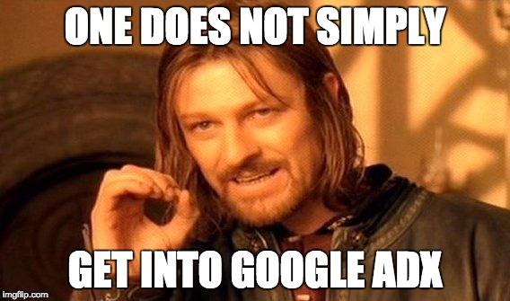 Google AdX meme