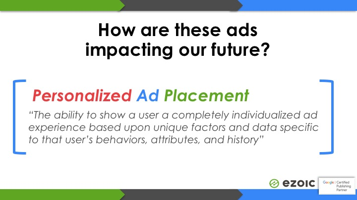 ad placements for ads