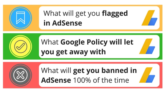 google adsense policy violations