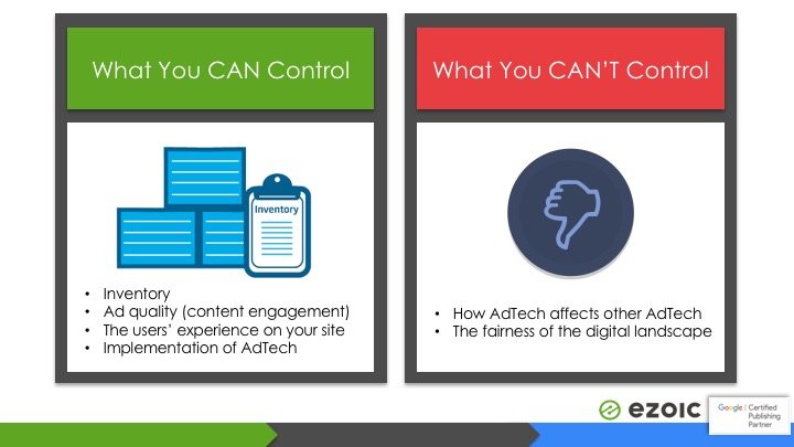 what you can control about internet ads