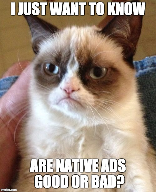 what are native ads