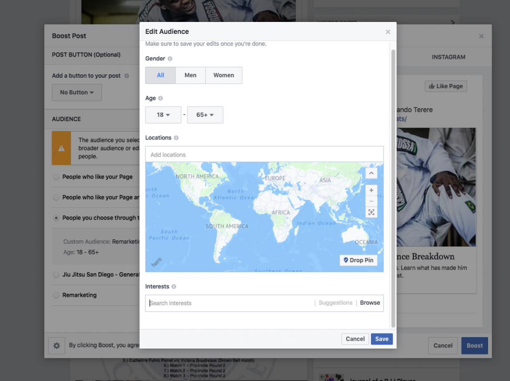boost sharing for facebook