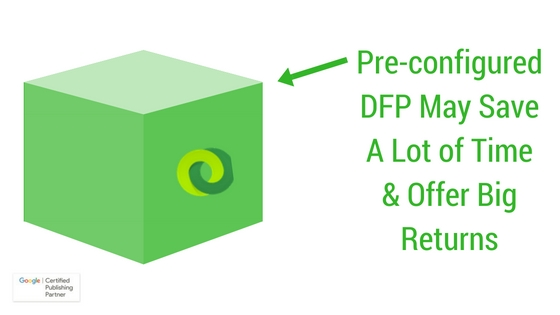 configure google dfp for publishers