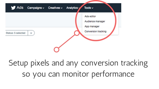 tracking twitter analytics