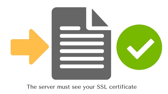 using ssl certificate on your website