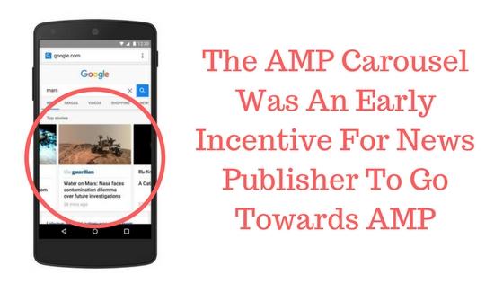 google amp carousel news