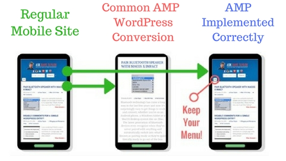 mobile pages amp google