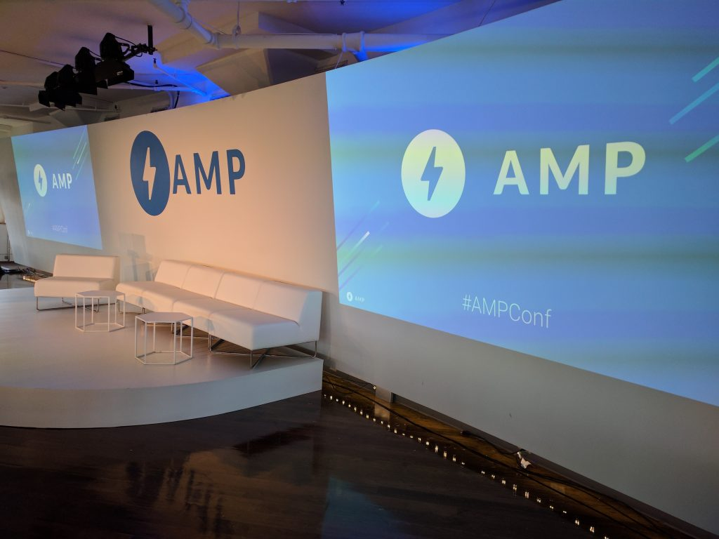 google amp conference