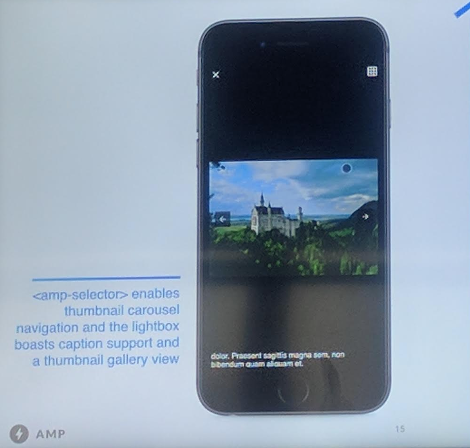 google amp images