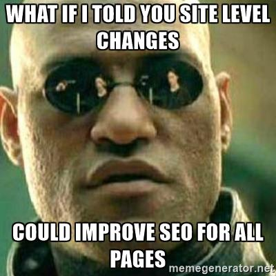 site level seo