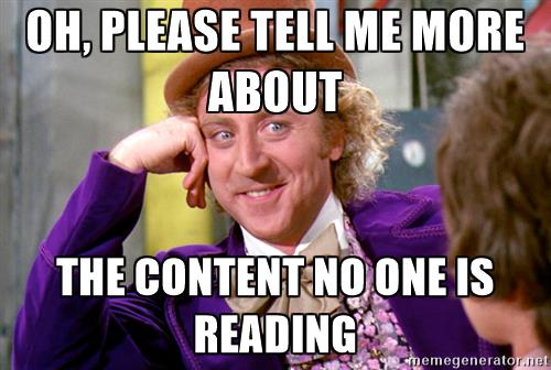 content reading meme title tags