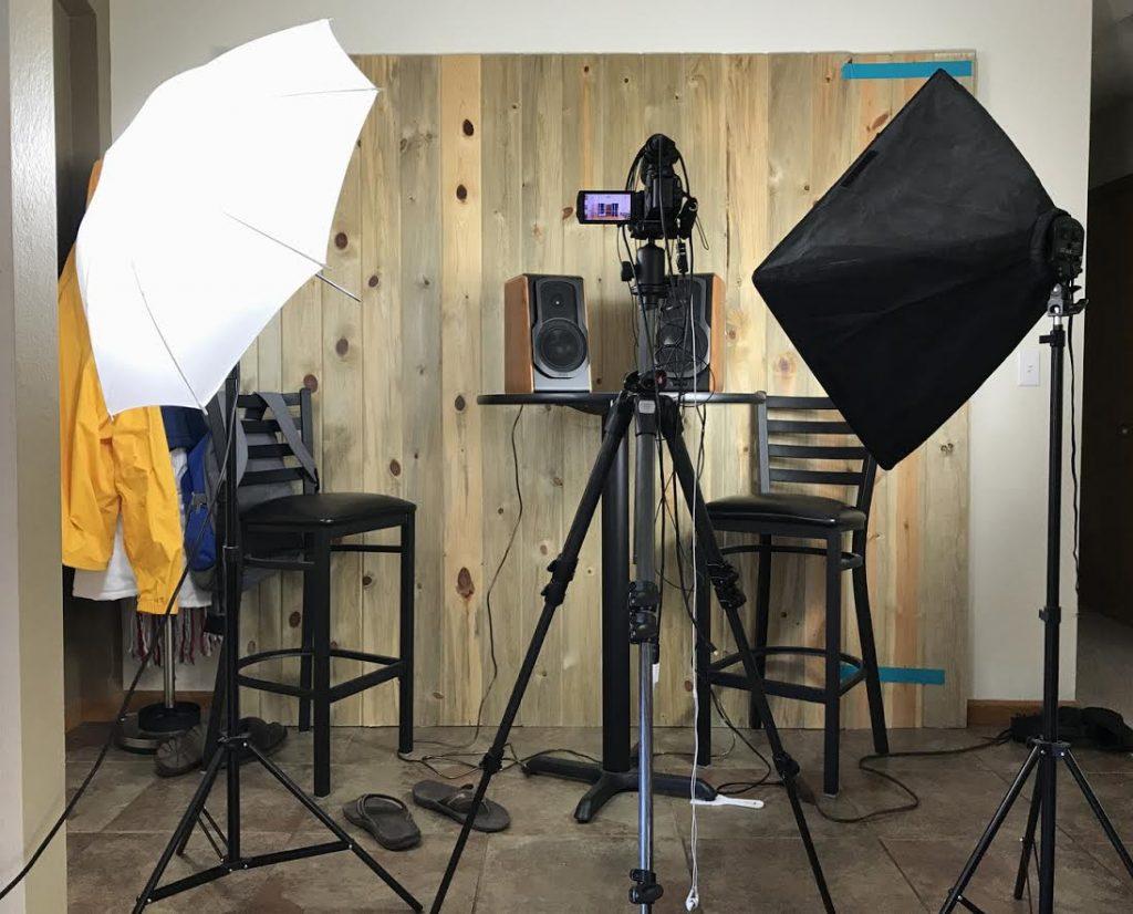 video publishing setup