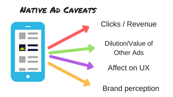 native advertising caveats