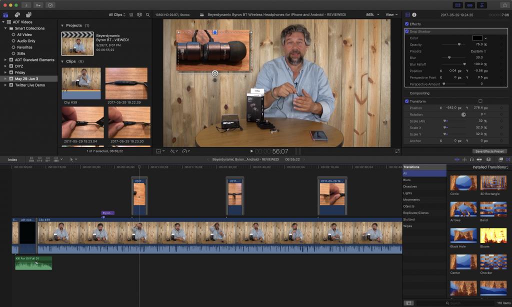 final cur pro video production