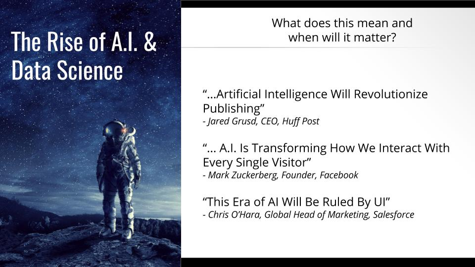 artificial intelligence and trends in online publishing