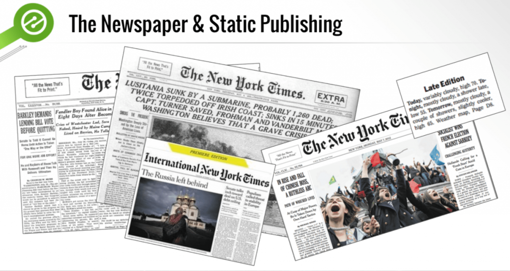 newspaper publishing