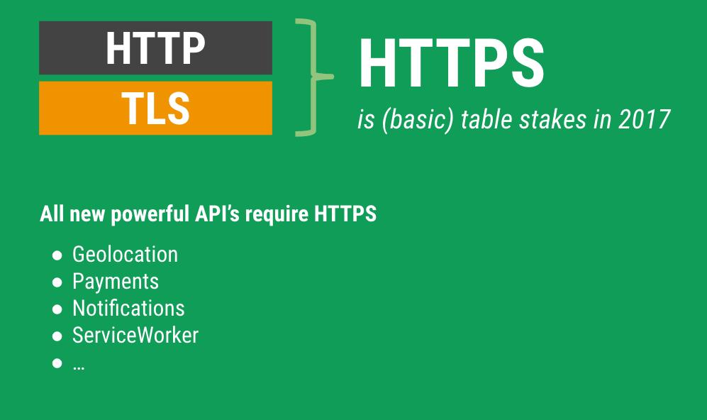 HTTPS, facteur de classement dans les résultats de recherche