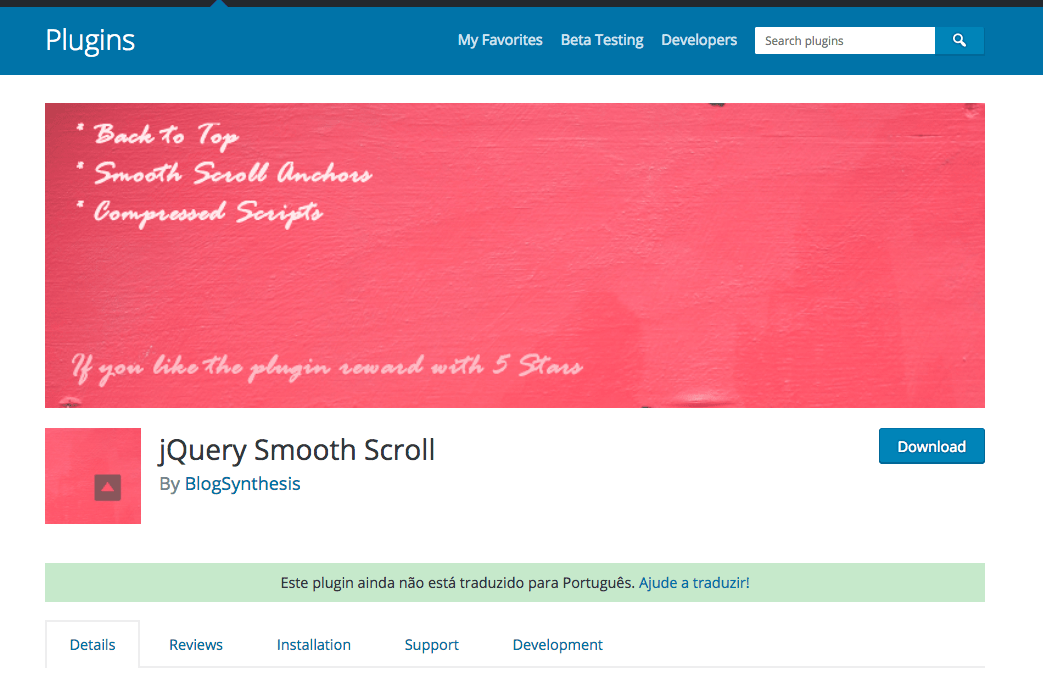 Smooth Scroll Jquery