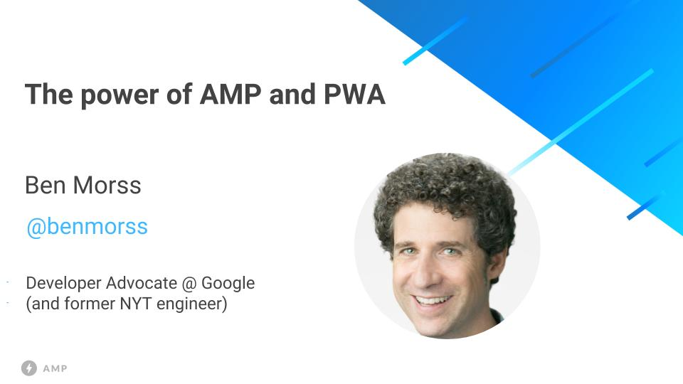 amp vs pwa apps
