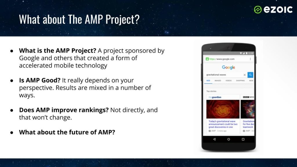 google amp results